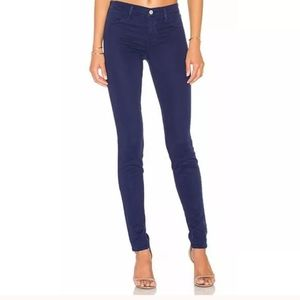 J Brand 811 Skinny Leg Sapphire Blue Jeans